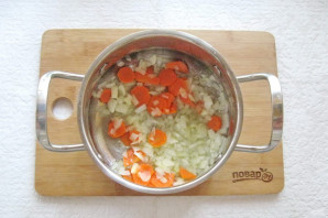 Тыквенный суп-пюре с мясом - фото шаг 3