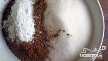 Шоколадный торт Черный лес - фото шаг 1