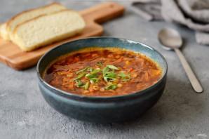 Гороховый суп с копченой паприкой - фото шаг 9
