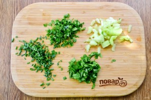 Витаминный салат с рисом - фото шаг 3