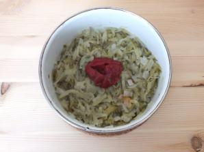 Солянка с солеными огурцами - фото шаг 5