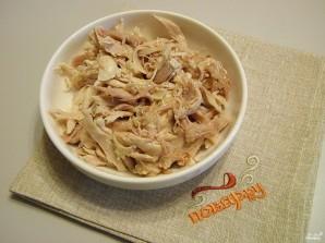 Салат из курицы с майонезом - фото шаг 2