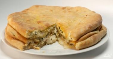 Осетинский пирог с сыром сулугуни - фото шаг 5