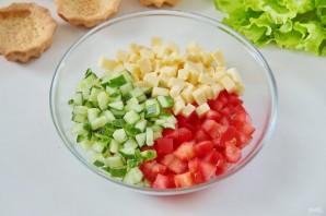 Овощные тарталетки - фото шаг 2