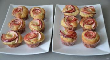Яблочные капкейки - фото шаг 10