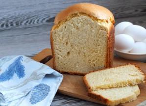 Яичный хлеб в хлебопечке - фото шаг 7