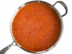 Рис с морепродуктами и овощами - фото шаг 5