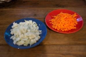 Суп-пюре с копченой курицей - фото шаг 1