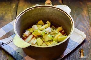 Лечо с яблоками - фото шаг 7