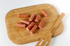 Охотничьи колбаски в тесте - фото шаг 2