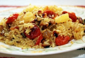 Постная рисовая каша с сухофруктами - фото шаг 6