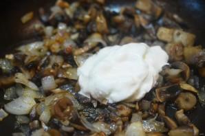 Запеканка с грибами и картофельным пюре - фото шаг 5