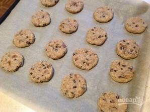 Печенье из цельнозерновой муки с инжиром и шоколадом - фото шаг 9