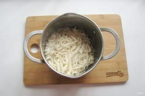 Удон в сливочном соусе - фото шаг 8