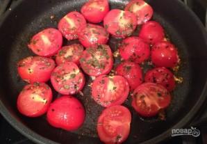 Паста с креветками, томатами и фетой - фото шаг 1