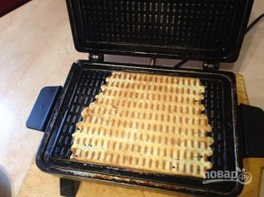 Рецепт вафельного теста для электровафельницы - фото шаг 8