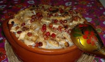 Каша рисовая в духовке - фото шаг 5