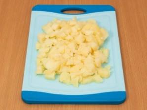 Салат из картофеля и грибов - фото шаг 1