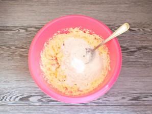 Мраморный кекс в хлебопечке - фото шаг 4