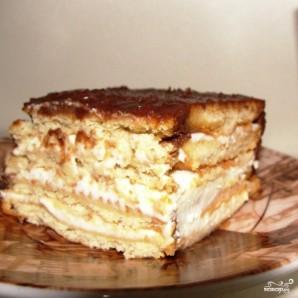Торт без выпечки из печенья - фото шаг 6