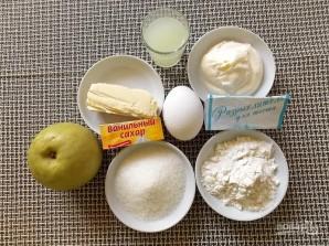 Кекс с яблоками на сыворотке - фото шаг 1
