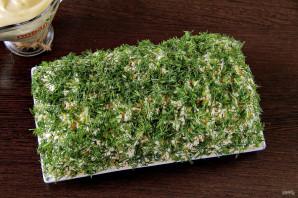 "Салат ""Зеленая шуба"" - фото шаг 9"