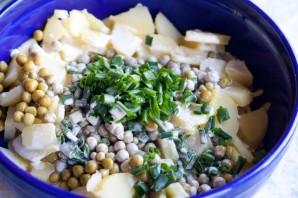 Салат со свеклой и картошкой - фото шаг 3