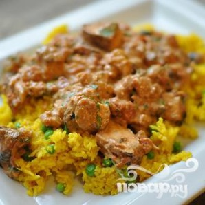 Курица в соусе Тикка Масала - фото шаг 24
