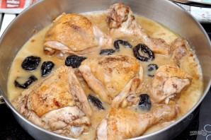 Курица с черносливом по-мароккански - фото шаг 8