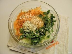 Самые вкусные оладьи из кабачков - фото шаг 4