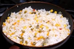 Рагу с овощами и рисом - фото шаг 7