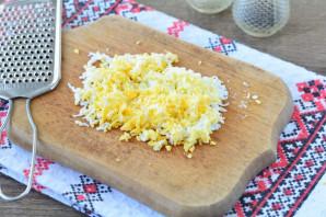Крабовый салат с ананасом и рисом - фото шаг 5
