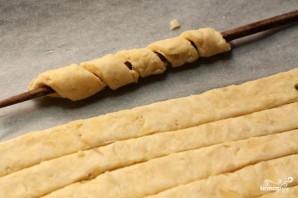 Сырные палочки к супу - фото шаг 5