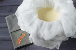 Крем-сыр из сметаны и молока - фото шаг 4