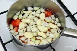 Овощной суп с имбирем - фото шаг 2