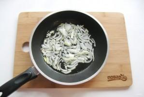 Теплый салат из шампиньонов с топинамбуром - фото шаг 2