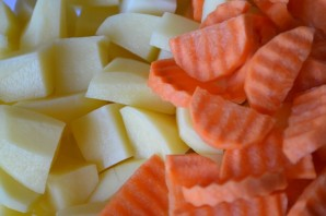 Соус из говядины с картошкой - фото шаг 4