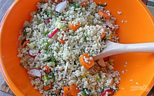 Салат из пшенной каши - фото шаг 3