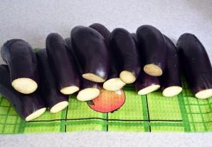 Баклажаны с морковкой фаршированные - фото шаг 1