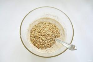 Ореховый пирог с меренгой - фото шаг 7
