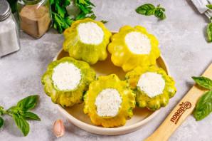 Маринованные патиссоны с сыром фета - фото шаг 4