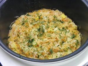 Солянка с кабачками и капустой - фото шаг 5