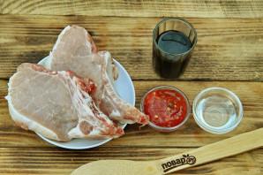 Чалагач из свинины на мангале - фото шаг 1