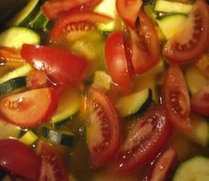 Пшеничная каша с соевым мясом и овощами - фото шаг 6