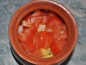 Баранина с овощами в горшочках - фото шаг 5