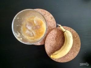 Смузи из банана, апельсина и яблока - фото шаг 4