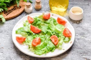 Салат из авокадо с ветчиной