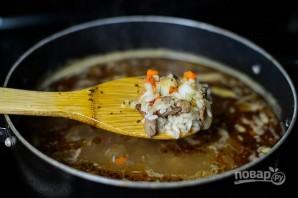 Рецепт супа с рисом и мясом - фото шаг 6