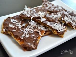 Десерт из крекеров с шоколадом - фото шаг 11