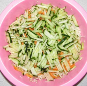 Салат из свежей зелени - фото шаг 2